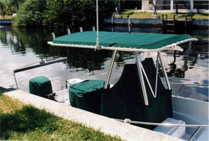 Boat T-Tops and T-Top Covers
